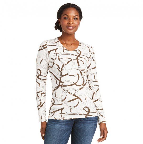 Ariat Shirt Bridle Print