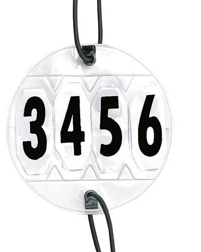 Startnummer rund verstellbar