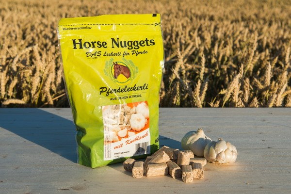 Horse Nuggets Knoblauch
