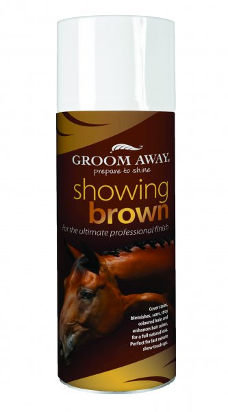 Showing Brown Spray