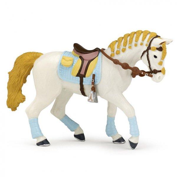 Pferd der blauen Reiterin