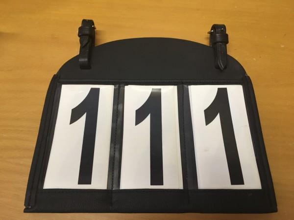 Startnummertasche 1-999