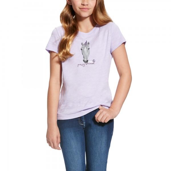 Ariat Girls Shirt Party Animal